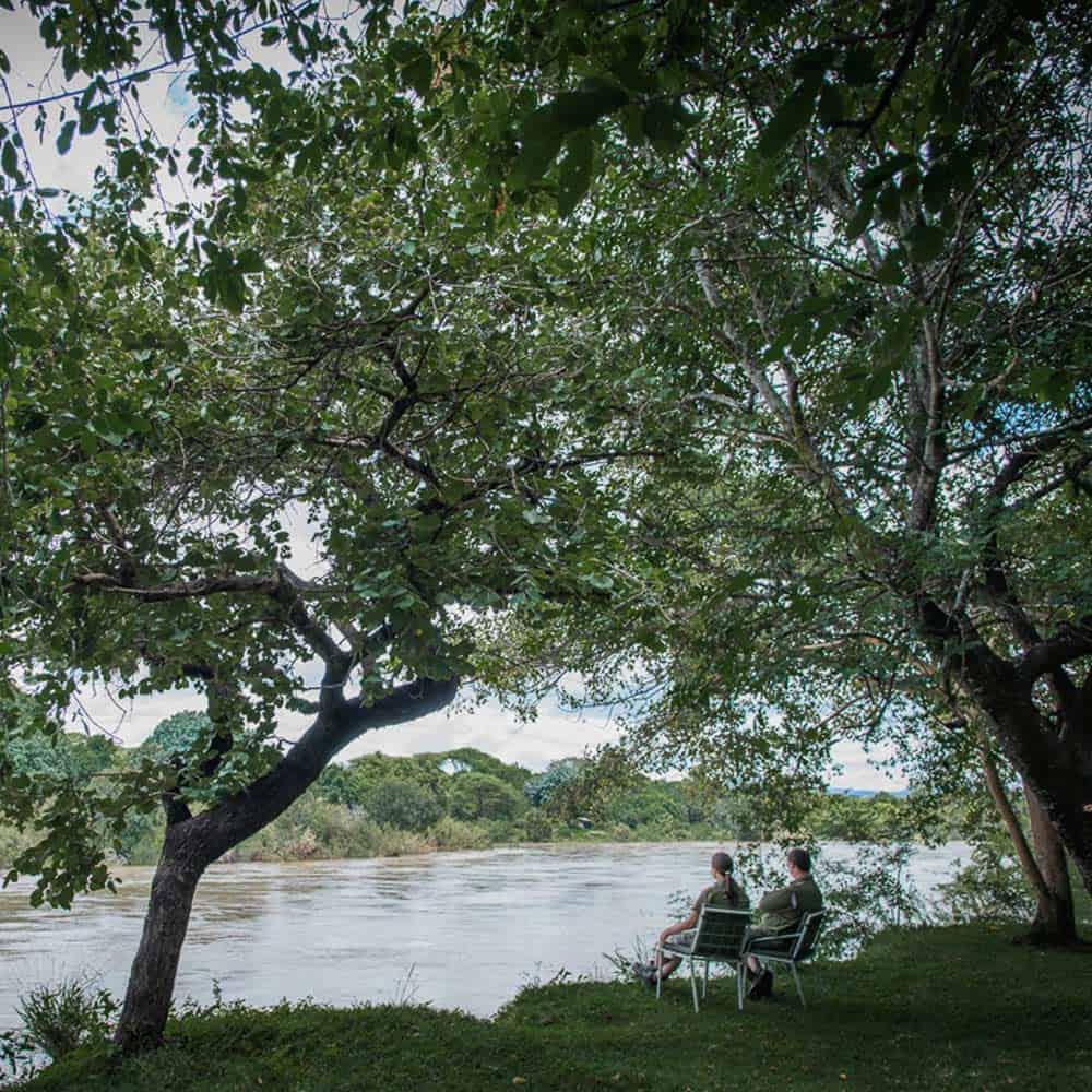 Hippo Pools Lodge Umfurudzi River